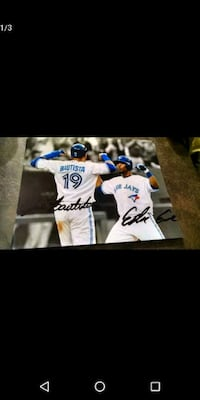 Toronto Blue Jays signed photos