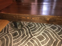 Solid wood and Iron Castor Coffee Table Toronto, M6S 1R8