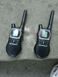 two black-and-gray 2-way radios Queens, 11358