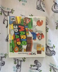 Super Mario 3D land for the Nintendo 3ds