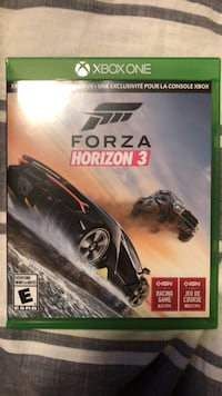 Forza Horizon 3 Xbox One game case St Albert, T8N 3E5