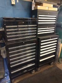 "27"" Tool Boxes (Full Sets) **Cabinet & Chest**"
