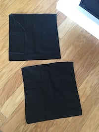 New IKEA black pillow covers -2