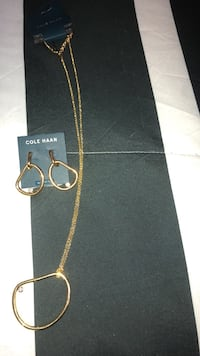 Designer Cole Hann Pendant and Earring Set - Final Listing Mississauga, L4Z 1H7
