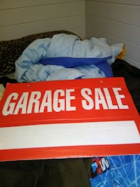 New garage sale sign  Regina, S4N 1L4
