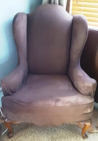 Brown wingback chair Henderson