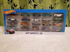 Hot Wheel car set - 20 cars