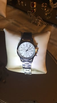 Brand new silver color men's fhd watch