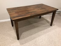 Dining Table 64 x 36 x 30 Silver Spring, 20901