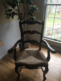 Set of four Country French Chairs two arm chairs two side chairs York