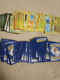 assorted pokemon cards