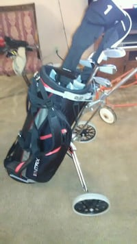 Brand New NITRIX golf clubs with cart Rome, 30161
