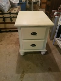 white wooden 2-drawer nightstand Plymouth, 02360