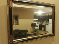 Gold and green wooden framed mirror East Stroudsburg, 18301