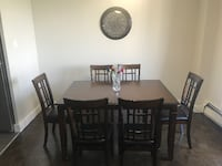 TABLE + 6 CHAIRS $400 TORONTO
