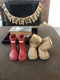 Hunter boots and ugg boots for toddler boy or girl San Diego, 92129