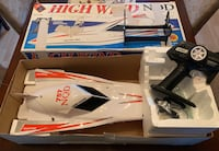 High Wind Remote Control Speed Boat