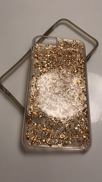 gold and white iPhone case Mission, 78573