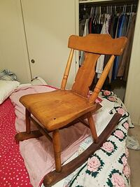 VERY OLD wooden rocking chair!