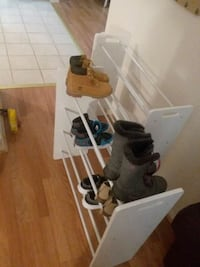 2 shoe racks for a closet great shape  Odenton, 21113