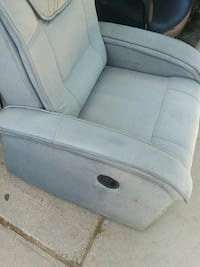 Eagles recliner gray fabric seat chair NFL Las Vegas, 89104