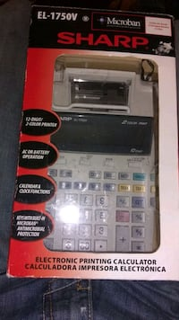 Sharp adding machine (new)