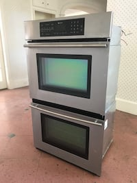 "Jenn-Air 30"" Stainless Double Electric Convection Wall Oven Sugar Land"