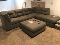 Sectional with ottoman  Colorado Springs, 80909
