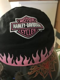 black and white Harley-Davidson cap Fairfax, 22033
