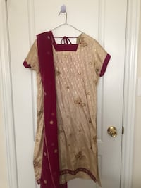 Indian Suit with Pants & Dupatta  Markham, L3R
