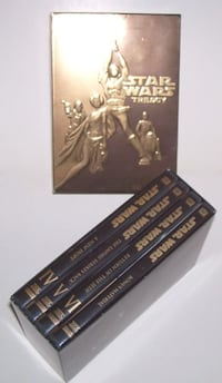 Star Wars Trilogy Boxed 4 Disc DVD