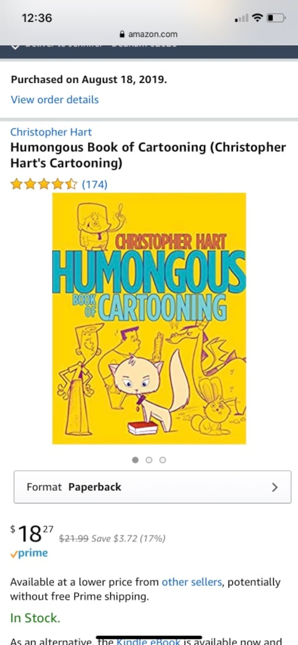 Cartooning books by Christopher Hart 42f091e8-5931-41d6-b0fa-30289f57203f