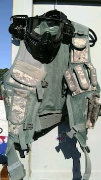 Military vest & Paintball Mask Beulaville, 28518
