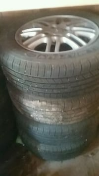 Good condition rims and tires  Baden, N3A 2T1