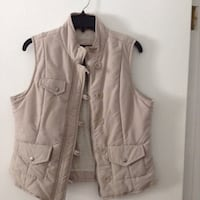 brown button-up vest Saginaw charter township, 48603