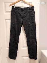 DKNY men's pants black casual pants size 34/32 Milpitas