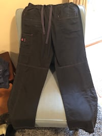 Women's Wink Brand Cargo Scrub Pants size M and L