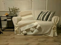 Pull-out single bed loveseat