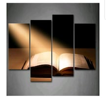 The Holy Bible Wall Art Painting The Picture Print On Canvas Religion