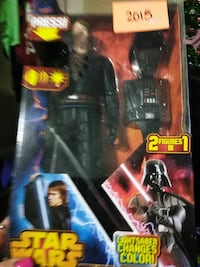 Star Wars Darth Vader and Anakin Skywalker action figures box Adamsville, 35005