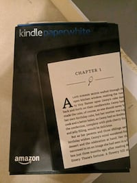 Kindle Paperwhite used onece North Vancouver, V7N 4K6