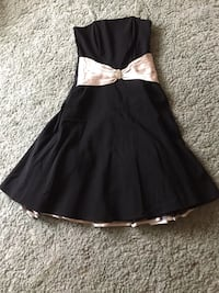 Cocktail strapless special occasion dress