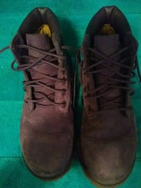 Girls Purple Timberland Boots Like New