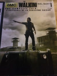 Walking Dead. DVDs seasons 3amd 4 Newmarket, L3Y 5E9