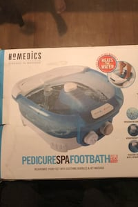 Pedicure spa foot bath with heat boost Baltimore, 21229