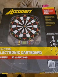 Electronic dart board.