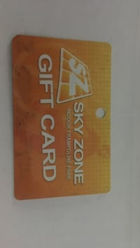 Sky zone gift card Dunmore, 18512