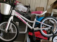 white and pink bicycle Newport News