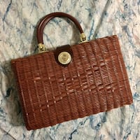 1960's Vintage Wicker Purse Toronto, M4K 1N2