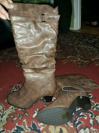 Pierre Dumas  Brown Boots Elgin, 29045